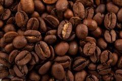 kaffe för closeup för astractbakgrundsbönor Royaltyfria Bilder