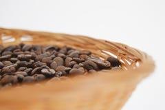 kaffe för closeup för astractbakgrundsbönor Royaltyfri Fotografi