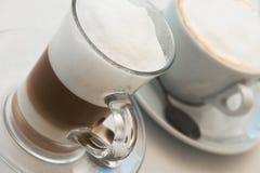 Kaffe för två Royaltyfri Foto