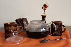 Kaffe för två Arkivbilder