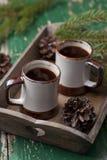 Kaffe för två Royaltyfri Fotografi