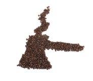 kaffe gjorde turken Arkivfoto