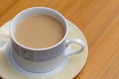 Kaffe i en gröngöling Royaltyfri Bild