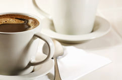 Kaffe i kopp royaltyfri bild