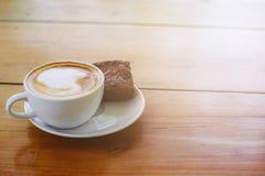 Kaffe i morgonen Arkivbild