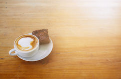 Kaffe i morgonen Fotografering för Bildbyråer
