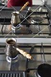 Kaffe i turken Royaltyfria Foton