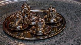 kaffe isolerad set white Arkivfoton