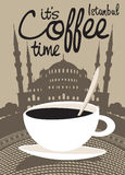 Kaffe Istanbul Royaltyfri Bild