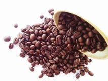 kaffe kärnar ur Royaltyfri Foto