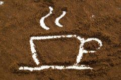 Kaffe kuper royaltyfria foton