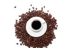 Kaffe kuper Arkivbild