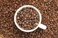 Kaffe kuper fotografering för bildbyråer