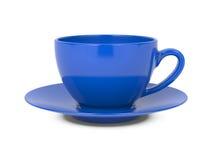 Kaffe kuper isolerat på vit. Royaltyfri Fotografi
