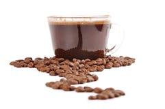 kaffe långt Royaltyfria Foton