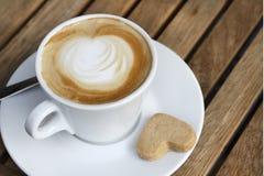 Kaffe Latte Arkivfoto