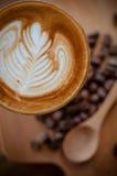 Kaffe Latte Arkivbilder