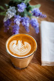 Kaffe Latte Royaltyfri Fotografi