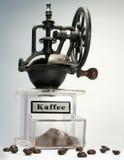 kaffe mal Arkivfoto