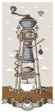 kaffe mal vektor illustrationer