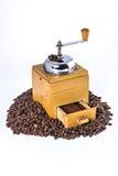 kaffe mal gammalt Royaltyfri Foto