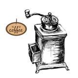 Kaffe maler Arkivbilder