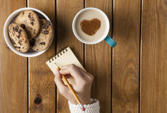 kaffe mer tid Royaltyfri Fotografi