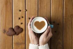 kaffe mer tid Arkivfoton