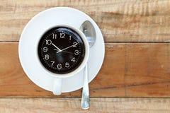 kaffe mer tid Royaltyfria Bilder