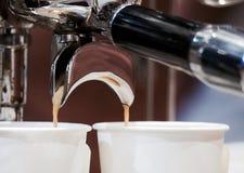 kaffe mer tid Arkivbilder