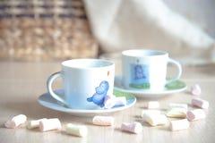 kaffe mer tid Fotografering för Bildbyråer
