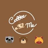 Kaffe mig symbol vektor illustrationer
