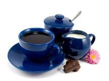 kaffe mjölkar Arkivbilder