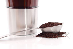 kaffe nytt malande Arkivfoton