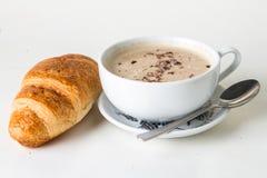 Kaffe och giffel Royaltyfri Fotografi