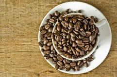 Kaffe och kaffe rånar Arkivfoton