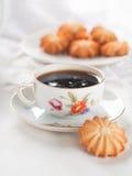 Kaffe och kaka Royaltyfri Bild