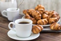 Kaffe och kakor Royaltyfri Fotografi