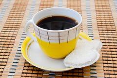 Kaffe och kex Arkivfoton