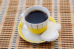 Kaffe och kex Royaltyfri Bild