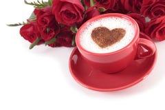 Kaffe och ro Royaltyfri Foto