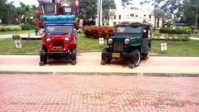 Kaffe parkerar ( colombia) Arkivbild