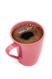kaffe rånar pink Arkivbild