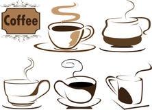 kaffe s stock illustrationer