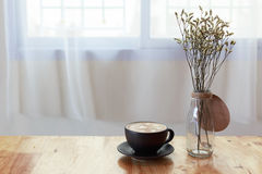 kaffe sent arkivbild