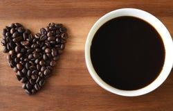 kaffe som jag älskar Royaltyfri Fotografi