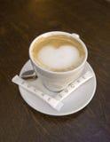 kaffe som jag älskar Royaltyfri Foto