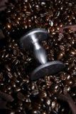 Kaffe tamp royaltyfri bild