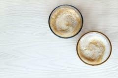 kaffe två Royaltyfria Foton