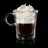 Kaffe vienna Arkivfoton